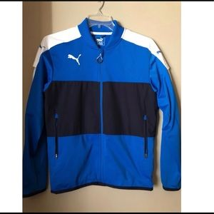 Mens Puma Zip Up Sport Jacket Size Small
